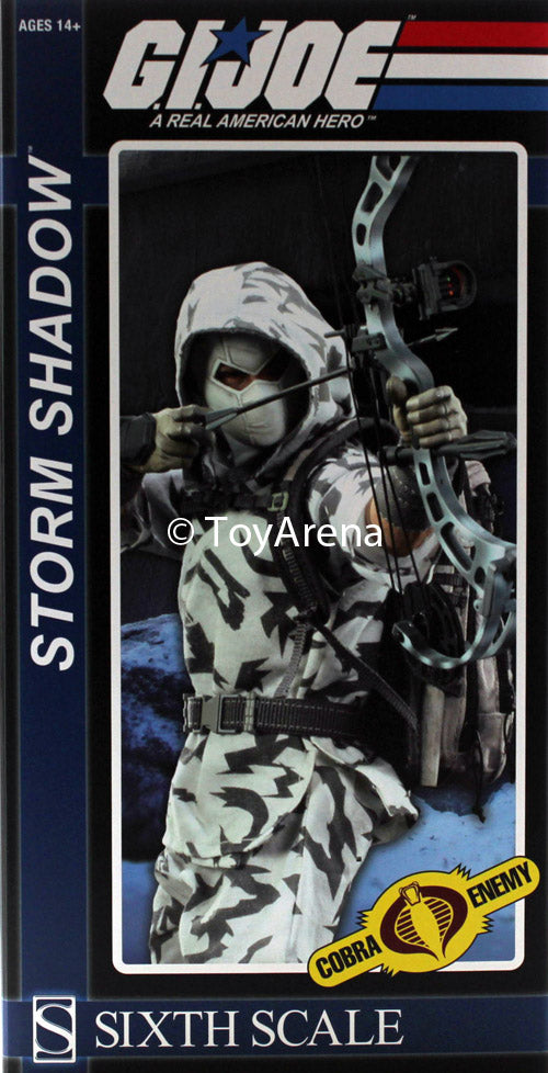 Sideshow Collectibles 1/6 G.I. Joe Cobra Storm Shadow Sixth Scale Figure