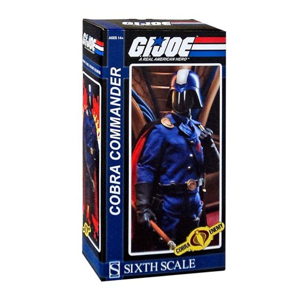 "Sideshow Collectibles 1/6 G.I. Joe Cobra Commander 1/6 Sixth Scale 12"" Figure"