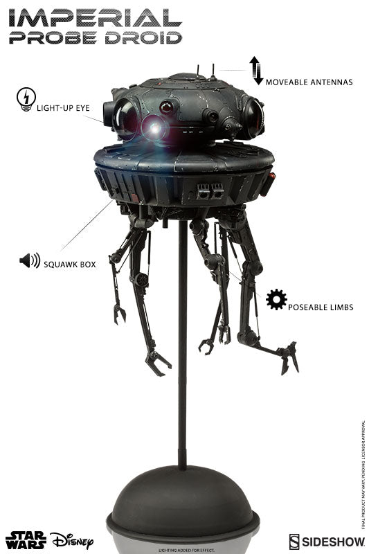 SideShow Collectibles Imperial Probe Droid Star Wars 1/6 Scale Action Figure