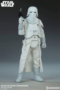 Sideshow Collectibles 1/6 Star Wars Episode V Empire Strikes Back Snowtrooper Commander Sixth Scale Figure 1