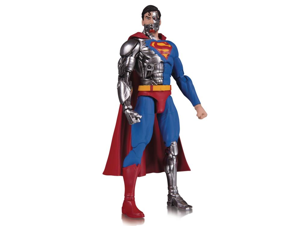 DC Collectibles DC Essentials #17 Cyborg Superman Action Figure