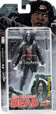 Skybound Exclusive The Walking Dead Michonne Black/White Bloody Action Figure SDCC Exclusive