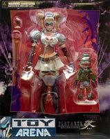 DC Universe Batman Arkham Asylum Harley Quinn Play Arts Kai Action Figure