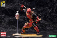 Kotobukiya Marvel Comics SDCC Chimichanga Deadpool Marvel Now! 1/10 Scale ArtFX+ Statue 1