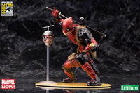 Kotobukiya Marvel Comics SDCC Chimichanga Deadpool Marvel Now! 1/10 Scale ArtFX+ Statue 2