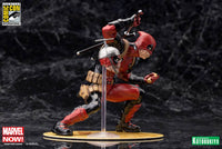 Kotobukiya Marvel Comics SDCC Chimichanga Deadpool Marvel Now! 1/10 Scale ArtFX+ Statue 4