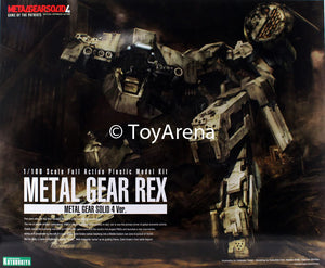 Metal Gear Solid 4 1/100 Metal Gear Rex Model Kit KP409