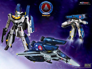 Kitz Concept 1/72 Macross Robotech VF-1S Fast Pack Armor Fighter Action Figure 1