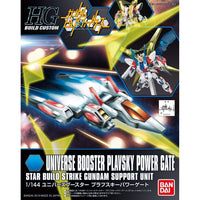 Gundam HG Build Custom HGBC #008 Universe Booster Plavsky Power Gate Star Build Strike Support Unit 1/144 Model Kit