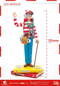 Blitzway MEGAHERO 1/6 Where's Waldo? Waldo Sixth Scale Action Figure