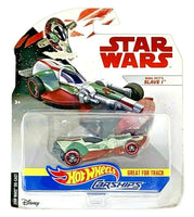 Mattel Hot Wheels Star Wars Boba Fett Slave 1 Vehicle Carfighter