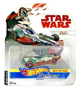 Mattel Hot Wheels Star Wars Boba Fett Slave 1 Vehicle Carfighter 1