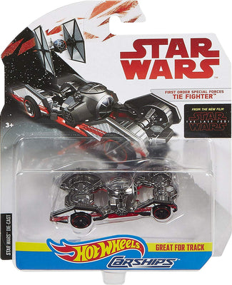 Mattel Hot Wheels Star Wars First Order Special Forces Tie Fighter Vehicle Carfighter