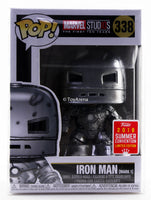 Funko Pop Iron Man Mark 1 10th Anniversary SDCC 2018 Exclusive with Sleve Case