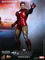 Hot Toys 1/6 The Avengers Iron Man Mark VI (6) Movie Promo Edition Sixth Scale Figure