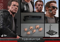 Hot Toys T-800 Guardian Terminator Genisys 12 Inch 1/6 Scale Action Figure MMS307