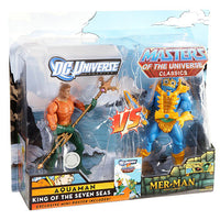 DC Universe Vs. Masters of the Universe Aquaman Vs. Mer-Man 2-Pack Action Figure