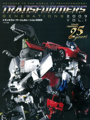 Transformers Generations 2009 Volume 01 - Book