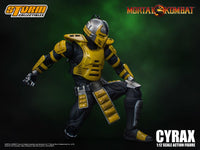 Storm Collectibles 1/12 Mortal Kombat Cyrax Scale Action Figure 6
