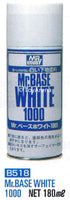Mr. Hobby Mr. Base White 1000 Spray 180ml B518 B-518 Model Kit