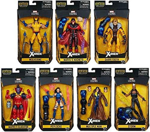 Marvel Legends X-Men Wave 3 BAF Apocalypse Set of 7