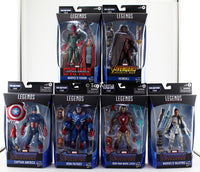 Marvel Legends Avengers Endgame: Wave 3 BAF Fat Thor Set of 6