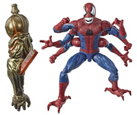 Marvel Legends Spiderman Wave 10 set of 7 BAF Molten Man Action Figures 4