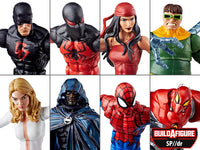 Marvel Legends Spiderman Wave 8 set of 7 BAF Sp//dr Action Figures 1