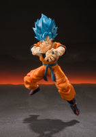 S.H. Figuarts Dragon Ball Super Saiyan God Super Saiyan Goku Action Figure