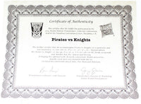 Botcon 2014 Transformers Exclusive Pirates Vs Knights Box Set w/ Certificate and Magazine Complete