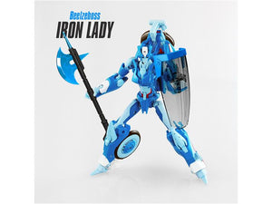 Beelzeboss BLZ-06 Iron Lady Custom Kit For IDW Chromia & Arcee