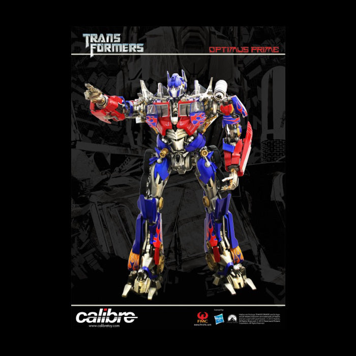 "Calibre Transformers Dark of the Moon Optimus Prime Statue 20"" Tall"