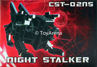 KFC CST-02NS Nightstalker Evil Ironpaw Keith Fantasy Club