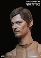 DAM Action 2.0 Narrow Shoulders Male 02 Walking Dead Norman Mark Reedus (Daryl Dixon) 1/6 Figure