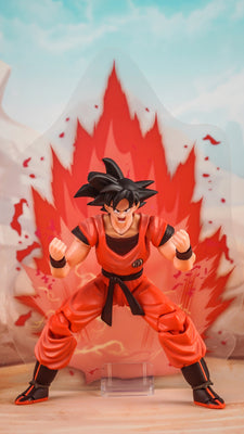 Demoniacal Fit Possessed Horse Scarlet Martial Artist (Kaio Ken Son Goku) Action Figure