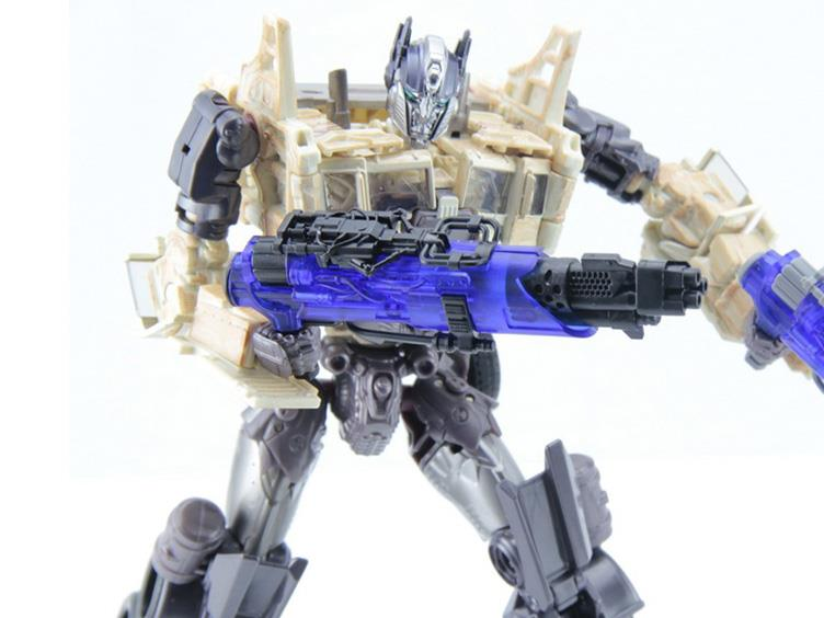 Dr. Wu DW-M04B Blaster Translucent Blue and Black