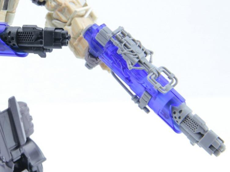 Dr. Wu DW-M04C Blaster Translucent Blue and Gray