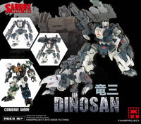 Fansproject Combiner Ryu-Oh Dinosan (Gairyu)