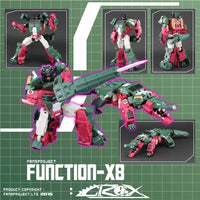 Fansproject Function X-8 Crox X-08 Action Figure