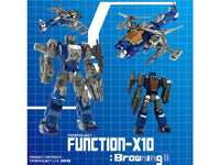 Fansproject Function X-10 Browning II Action Figure