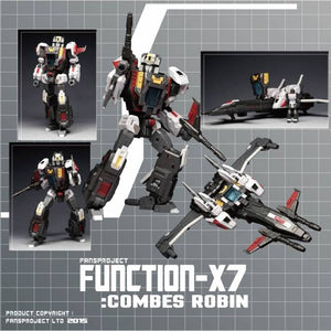 Fansproject Function X-7 Combes Robin X-08 Action Figure