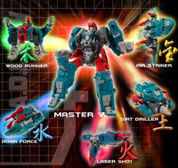Fansproject Function X-V M.A.D.L.A.W Madlaw Action Figure
