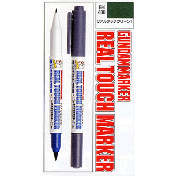 Gundam Marker GM408 Real Touch Green 1