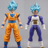 Demoniacal Fit Possessed Horse Transparent Hair SS Blue for Goku and Vegeta
