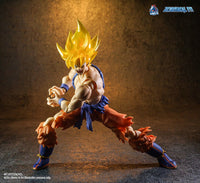 Demoniacal Fit Possessed Horse Transparent Hair SS (Yellow) for Goku and Vegeta