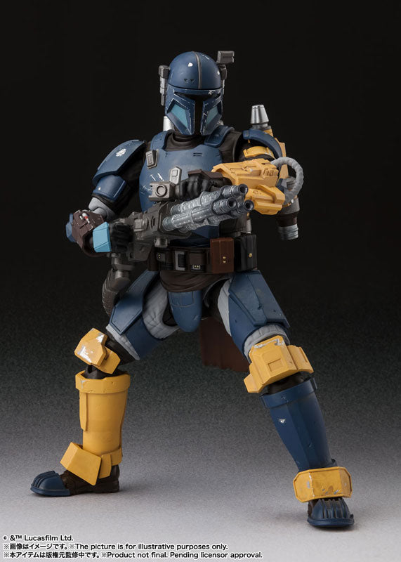 S.H. Figuarts Star Wars Heavily Armed Mandalorian The Mandalorian Action Figure