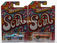 Hot Wheels Jukebox Soul '68 El Camino & '65 Corvette Wal-Mart Exclusive 2013