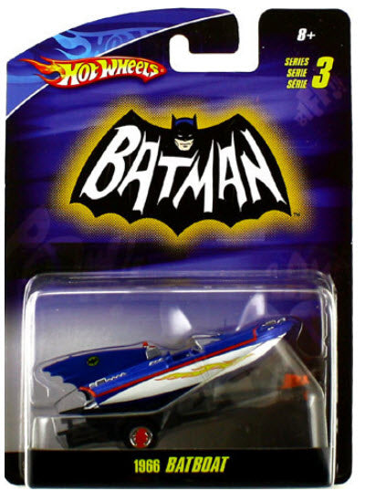 Hot Wheels Batman 1966 BatBoat