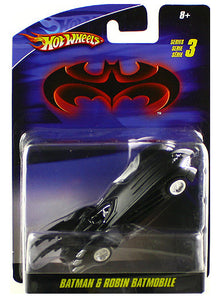 Hot Wheels Batman & Robin Batmobile