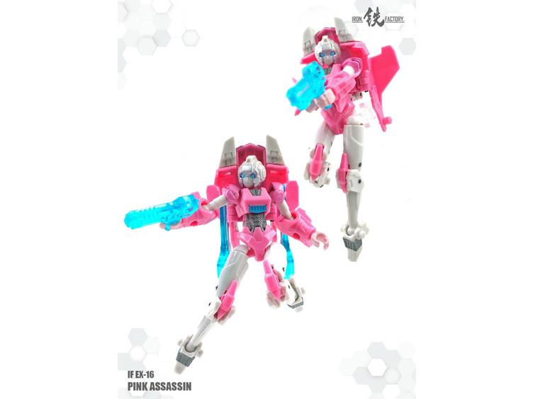 Iron Factory IF-EX16 Pink Assassin Figure